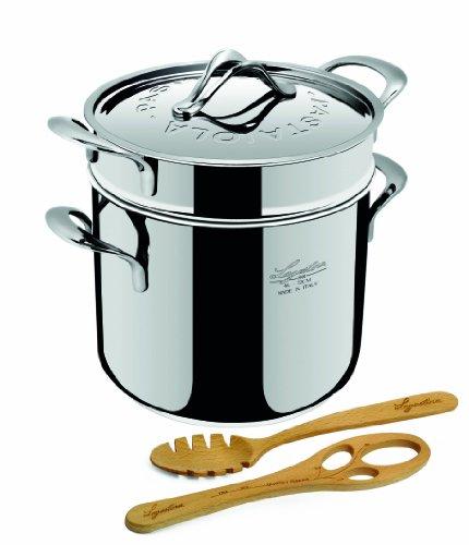 lagostina 11193020922 set pour pasta acier accessoires casseroles plats et po les. Black Bedroom Furniture Sets. Home Design Ideas