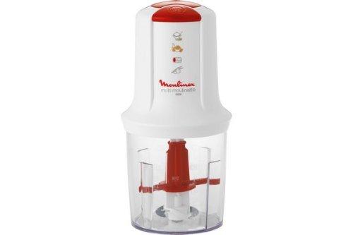 Moulinex At710131 Mini Hachoir Multi Moulinette Blanc Rouge