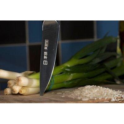 Tout nouvel ensemble de 9 couteaux professionnels style japonais dans une housse de transport - Ensemble couteaux de cuisine ...